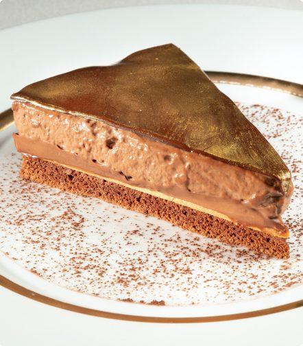 Tarta Dominique, de chocolate